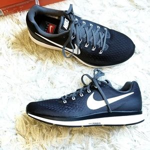 NIB Nike Air Zoom Pegasus 34 TB Black White shoes